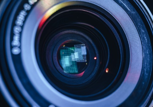 Camera Lens Used for Dealership Video Marketing in Chicago