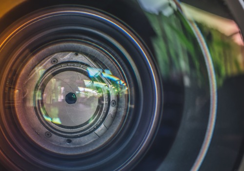 Lens Used for Walkaround Video Marketing in Naperville IL