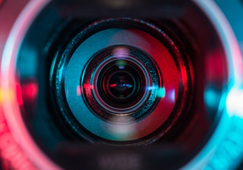 Camera Lense Used for Dealership Video Marketing in Naperville IL